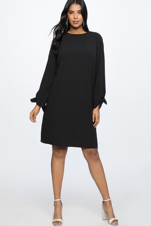 yazlık siyah büyük beden elbise