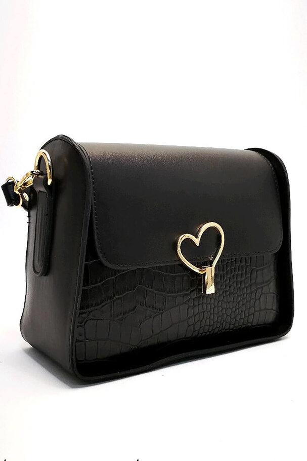 Deri bayan el ve omuz çantası