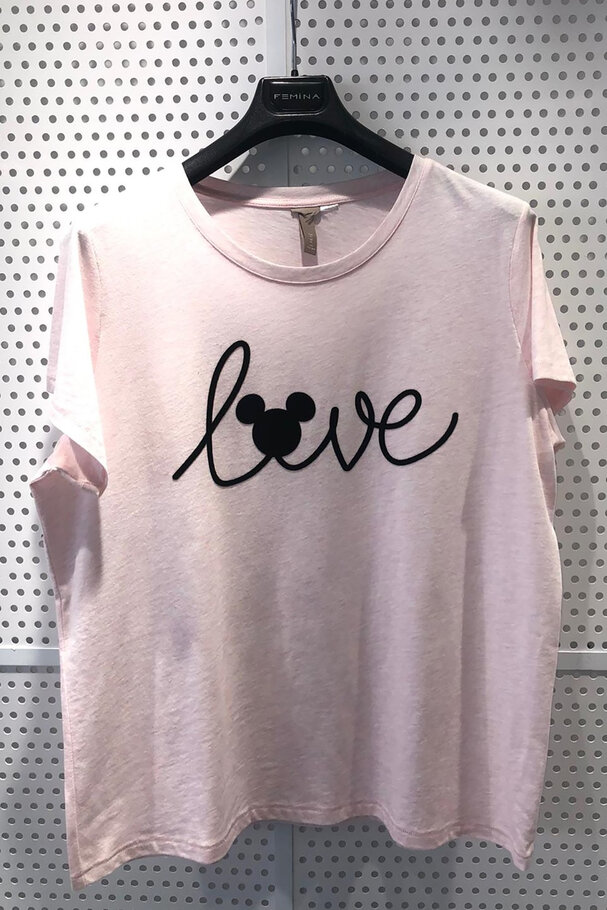 MICKEY LOVE BASKILI T-SHIRT