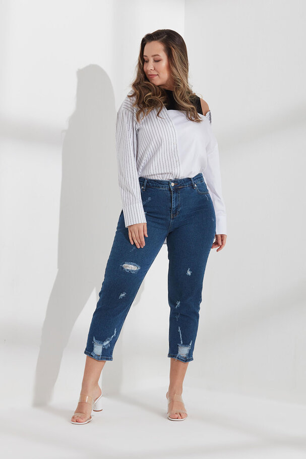 MOM JEANS PANTOLON