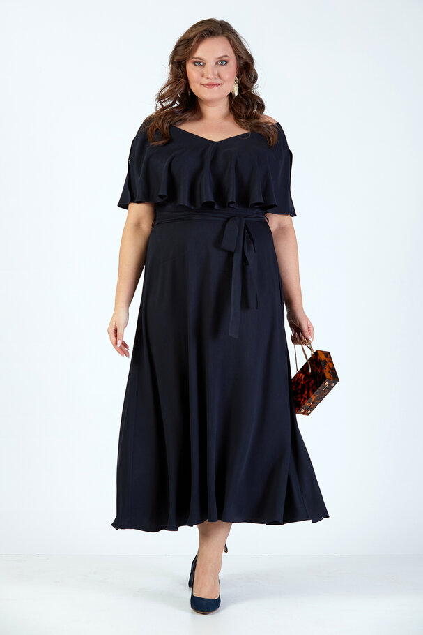 NATURAL FABRIC LONG DRESS
