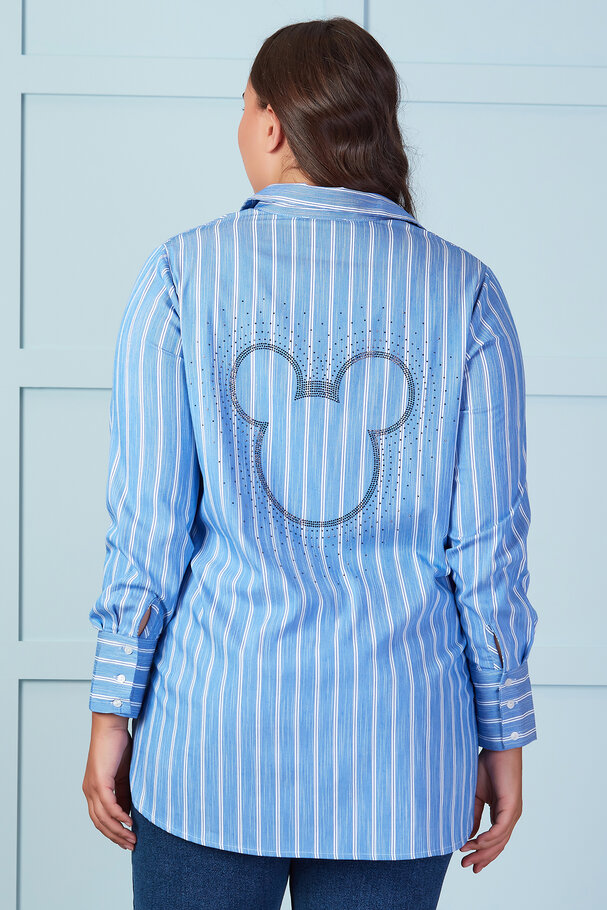 STRIPED SHIRT WITH MICKEY BACK DETAIL