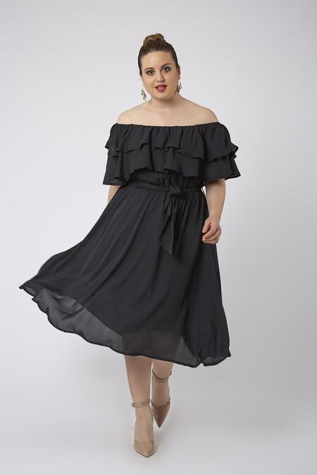 62554b83e0495 Büyük Beden Elbise Modelleri | Günlük & Abiye | Buyukmoda.com